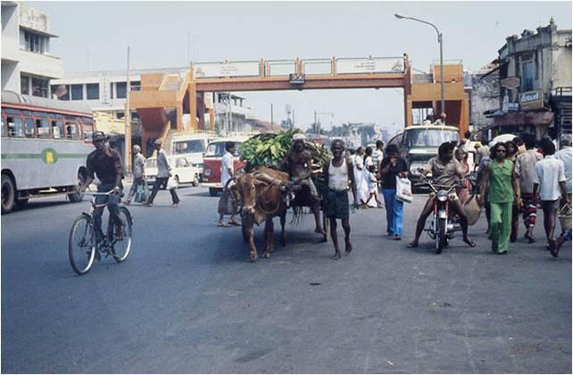 Colombo in 1981