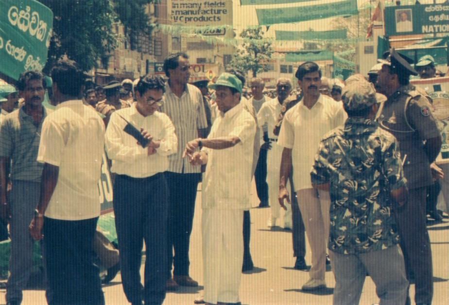 Last day of President RanasinghePremadasa