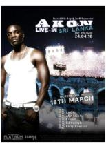 akon live in Sri lanka