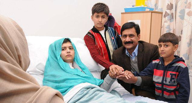 Pakistani girl shot in the head by Taliban (4)