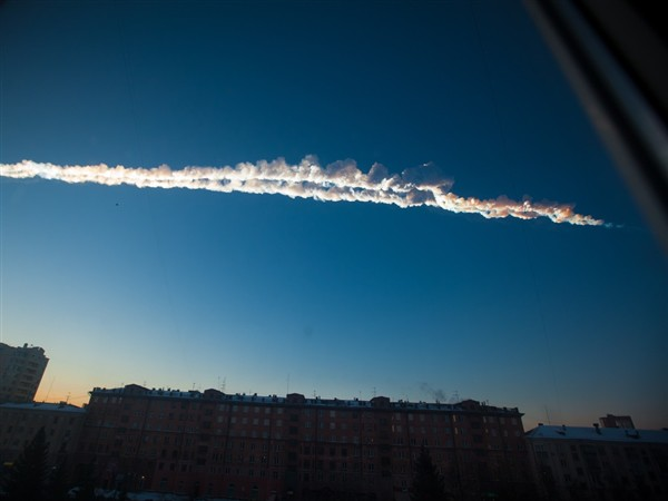 Meteor hits Russia (1)