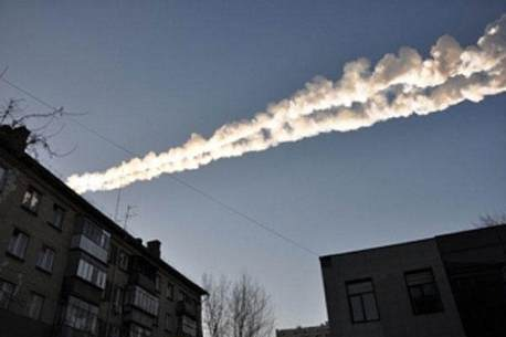 Meteor hits Russia (2)