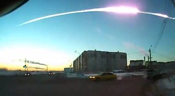 Meteor hits Russia (8)