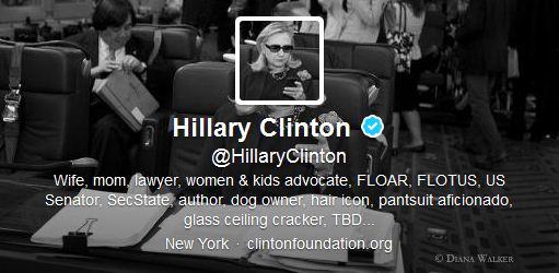Hillary Clinton tweeter