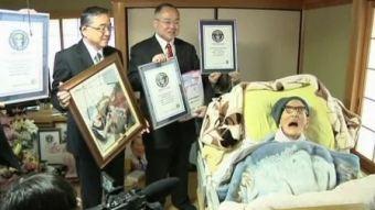 Worlds oldest man Jiroemon Kimura (3)