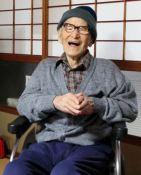 Worlds oldest man Jiroemon Kimura (4)