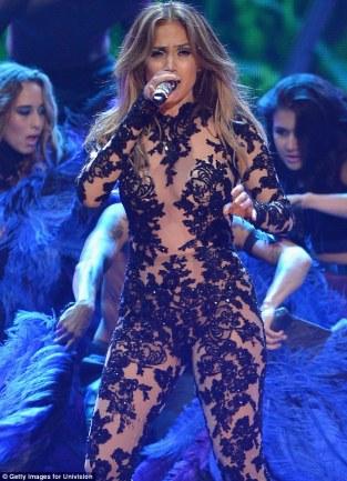 Jennifer Lopez World Icon award Premios Juventud 2013 (15)