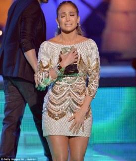 Jennifer Lopez World Icon award Premios Juventud 2013 (2)