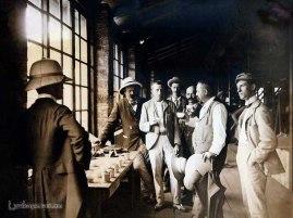Tea Sampling and Tasting at Rosita Tea Factory, Ceylon 1894