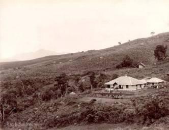 Tea planters bungalow Haputale Estate 1870