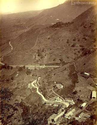 Hill scen, Ceylon, late 1800s