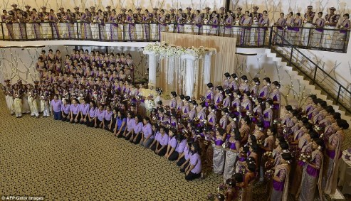 Guinness World Record breaking Sri Lankan wedding (1)