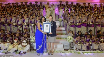 Guinness World Record breaking Sri Lankan wedding (2)