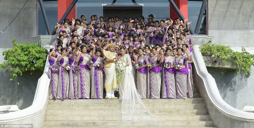 Guinness World Record breaking Sri Lankan wedding (3)