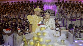 Guinness World Record breaking Sri Lankan wedding (4)