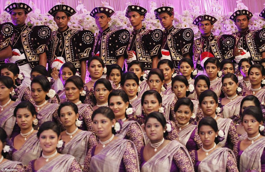 Guinness World Record breaking Sri Lankan wedding (5)
