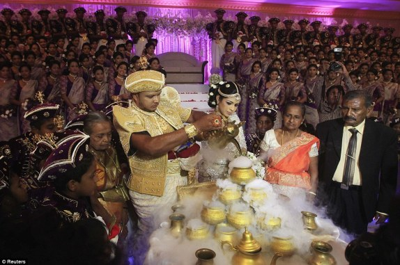 Guinness World Record breaking Sri Lankan wedding (6)