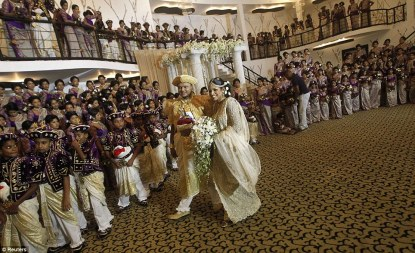 Guinness World Record breaking Sri Lankan wedding (7)