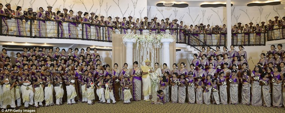 Guinness World Record breaking Sri Lankan wedding (9)
