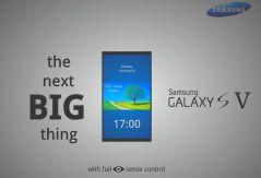 Samsung Galaxy S5 with eye sensor