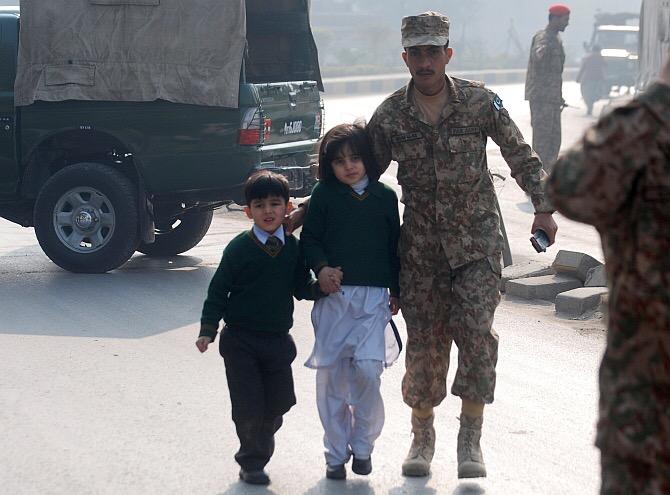 Taliban terror attack in Pakistan school, kill more than130
