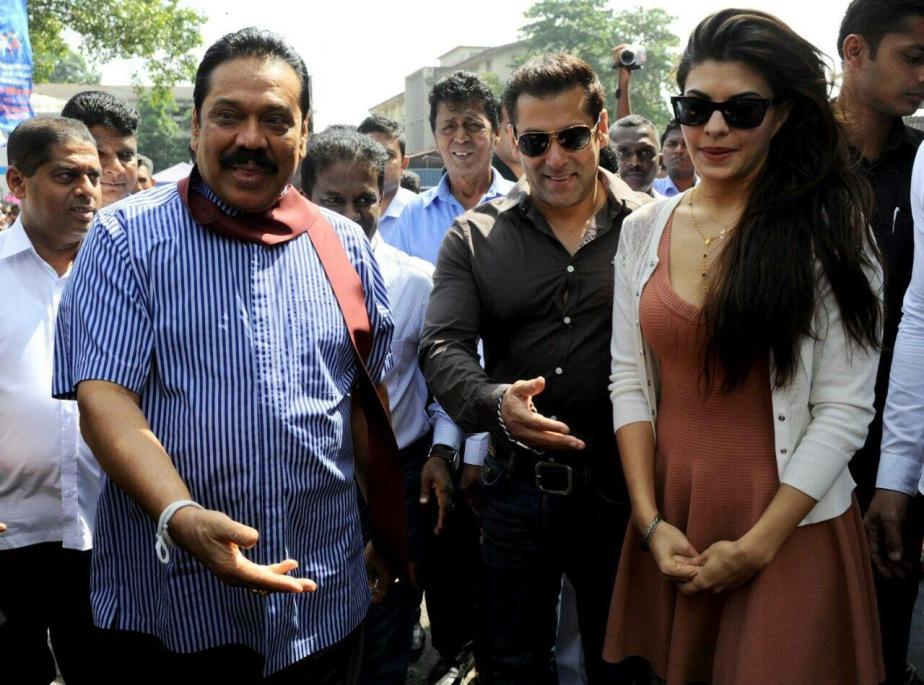 Bollywood Star Salman Khan to boost the sagging morale Of Mahinda Rajapaksacampaign