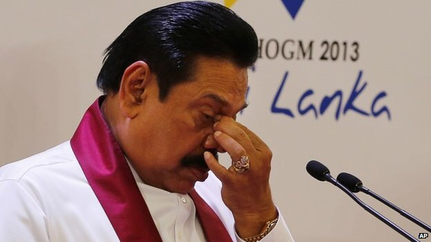 Mahinda Rajapakse persuade army to deploy troops after poll defeat